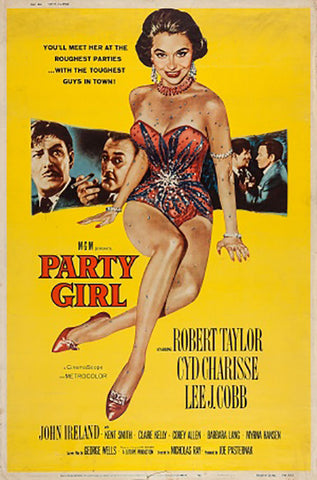 Wall Art, Party Girl | Retro Movie Poster, - PosterGully - 1