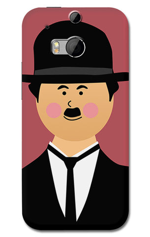 Charlie Chaplin | HTC One M8 Cases