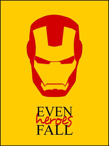 Wall Art, Iron Man Artwork | Artist: Maaham Rizvi, - PosterGully