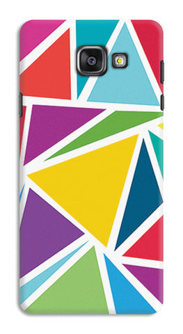 Abstract Colorful Triangles | Samsung Galaxy A7 (2016) Cases
