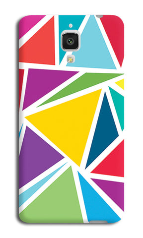 Abstract Colorful Triangles | Xiaomi Mi-4 Cases