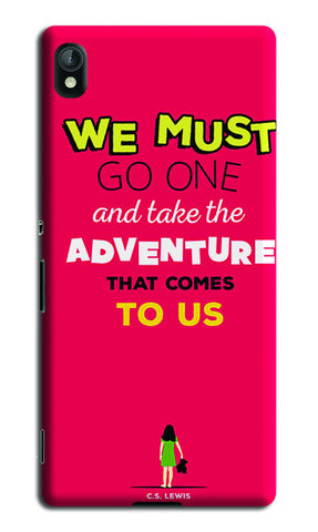 Adventures Narnia Typography | Sony Xperia Z4 Cases