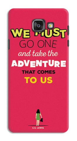 Adventures Narnia Typography | Samsung Galaxy A7 (2016) Cases