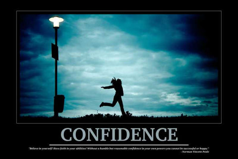 Confidence Motivational |  PosterGully Specials
