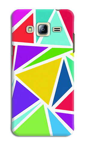 Abstract Colorful Triangles | Samsung Galaxy J5 Cases