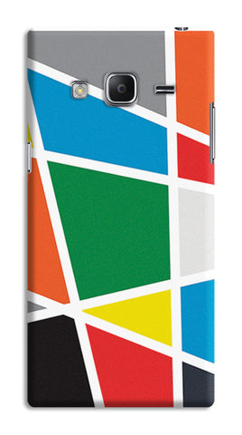 Abstract Colorful Shapes | Samsung Galaxy Z3 Cases