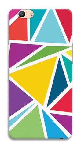 Abstract Colorful Triangles | Oppo F1s Cases