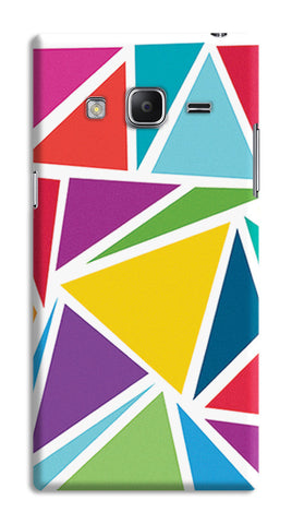 Abstract Colorful Triangles | Samsung Galaxy Z3 Cases