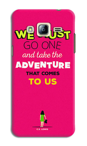 Adventures Narnia Typography | Samsung Galaxy J5 Cases