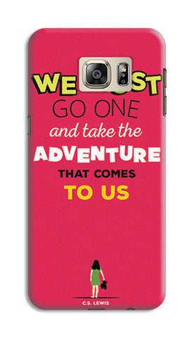 Adventures Narnia Typography | Samsung Galaxy S6 Edge Plus Cases