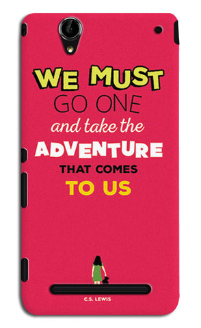 Adventures Narnia Typography | Sony Xperia T2 Ultra Cases