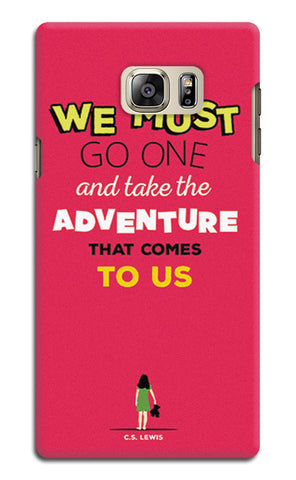 Adventures Narnia Typography | Samsung Galaxy Note 5 Cases