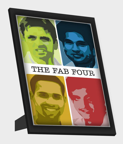 Framed Art, The Fab Four Framed Art, - PosterGully