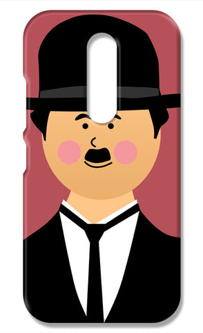 Charlie Chaplin #minimalicons | Moto M Cases