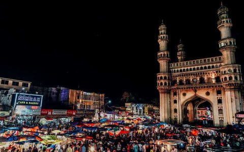 Wall Art, Charminar At Ramzan Artwork | Artist: Karthik Abhiram, - PosterGully