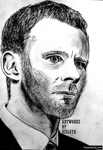 Wall Art, Ryan Giggs Artwork | Artist: Kislaya Sinha, - PosterGully