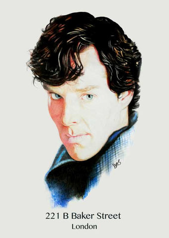 Wall Art, Sherlock Artwork  | Artist: Tridib Das, - PosterGully