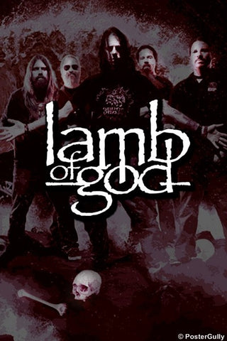 PosterGully Specials, Lamb Of God Poster, - PosterGully