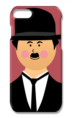 Charlie Chaplin #minimalicons | iPhone 7 Plus Cases