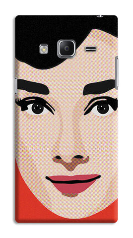 Audrey Hepburn Pop Art | Samsung Galaxy Z3 Cases