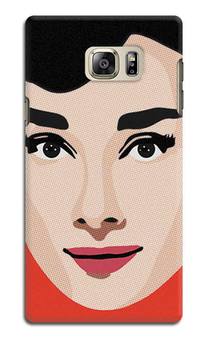 Audrey Hepburn Pop Art | Samsung Galaxy Note 5 Cases