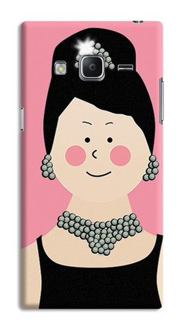 Audrey Hepburn Breakfast At Tiffany | Samsung Galaxy Z3 Cases