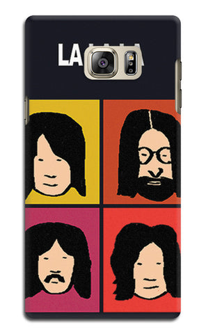 Beatles La La La Pop Art | Samsung Galaxy Note 5 Cases