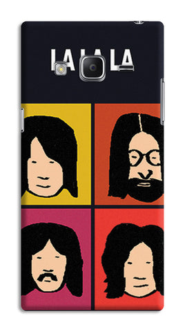 Beatles La La La Pop Art | Samsung Galaxy Z3 Cases