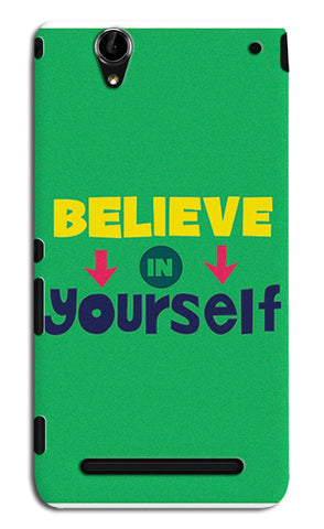 Believe In Yourself Typography | Sony Xperia T2 Ultra Cases