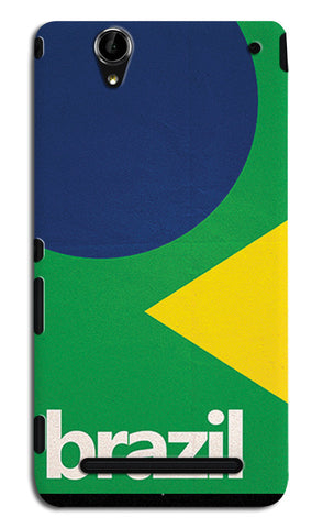 Brazil Soccer Team | Sony Xperia T2 Ultra Cases