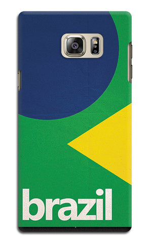 Brazil Soccer Team | Samsung Galaxy Note 5 Cases
