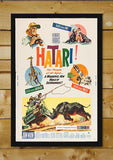 Brand New Designs, Hatari | Retro Movie Poster, - PosterGully - 2