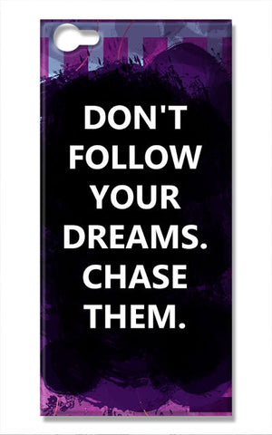 Chase Your Dreams Quote | Vivo V5 Cases