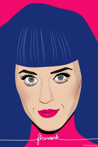 Wall Art, Katy Perry | Firework, - PosterGully