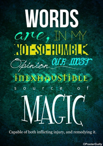 Wall Art, Harry Potter Movie Quote, - PosterGully