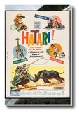 Brand New Designs, Hatari | Retro Movie Poster, - PosterGully - 3