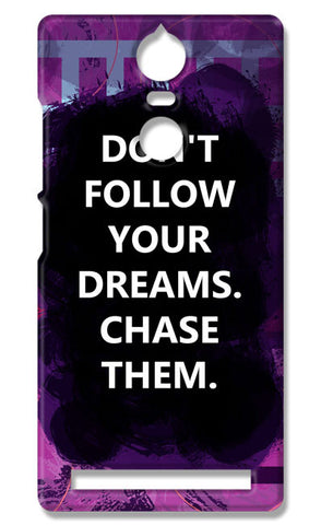 Chase Your Dreams Quote | Lenovo K5 Note Cases
