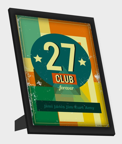 Framed Art, Club 27 Forever Framed Art, - PosterGully