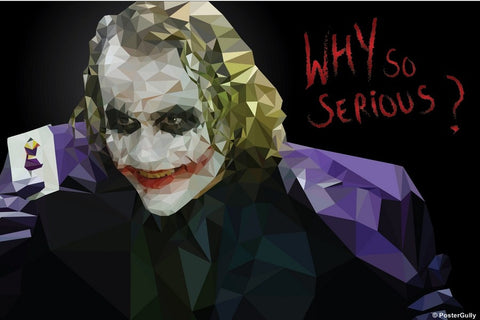 PosterGully Specials, Batman Joker | By Abhishek Aggarwal, - PosterGully