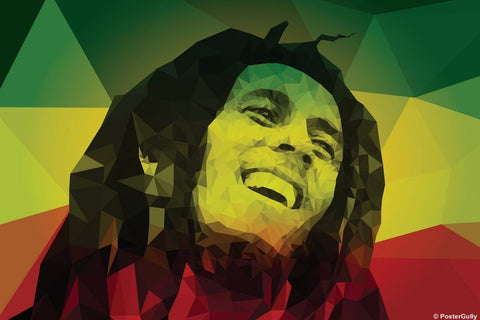 Wall Art, Bob Marley Artwork | Abhishek Aggarwal, - PosterGully