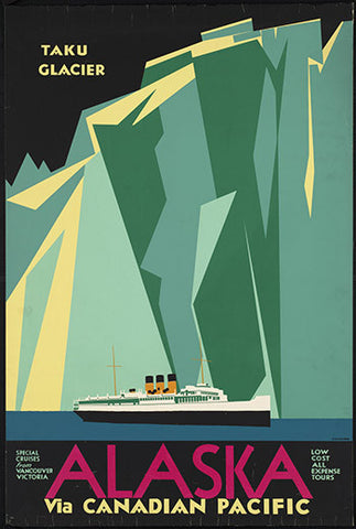 Wall Art, Alaska Via Canadian Pacific, - PosterGully