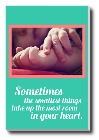 Canvas Art Prints, Baby Stretched Canvas Print, - PosterGully - 1