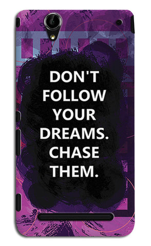 Chase Your Dreams Quote | Sony Xperia T2 Ultra Cases