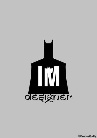 Wall Art, Batman | I'm Designer Artwork, - PosterGully