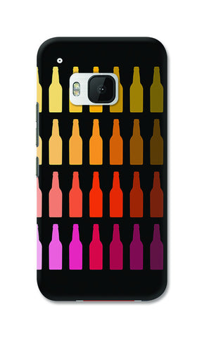 Chilled Beer Bottles | HTC One M9 Cases