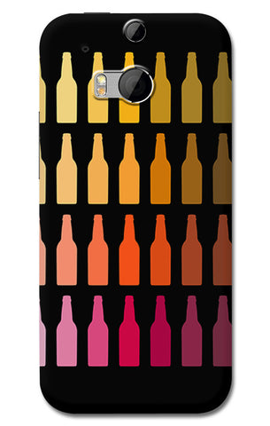 Chilled Beer Bottles | HTC One M8 Cases