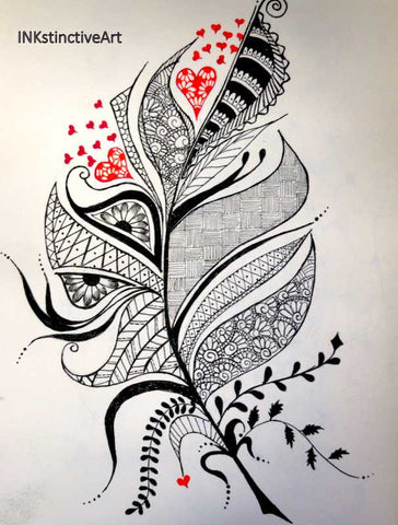 Wall Art, Lost In My Heart Artwork | Artist: Gauri Chitre, - PosterGully