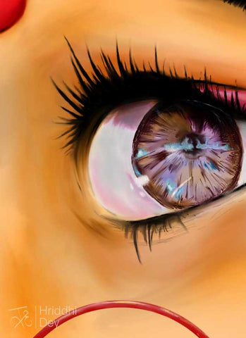 Brand New Designs, Human Eye Artwork | Artist: Hriddhi Dey, - PosterGully