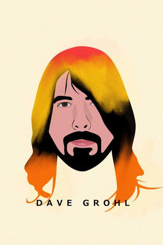 Dave Grohl Foo Fighters Nirvana |  PosterGully Specials