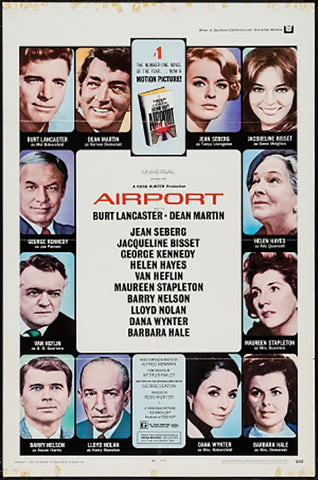 Wall Art, Airport | Retro Movie Poster, - PosterGully - 1